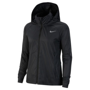 Nike Shield Women's Running Jacket black cu3385 front