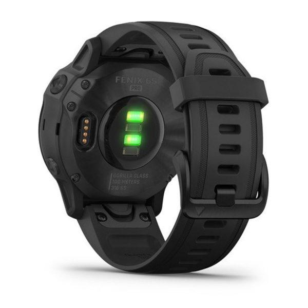 Garmin Fenix 6S Pro GPS Running Watch black back