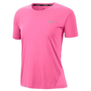 Nike Miler Short Sleeve Women's pink glow front