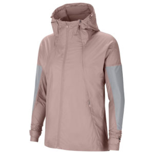 Nike Flash Run Division Women's Running Jacket stone mauve front