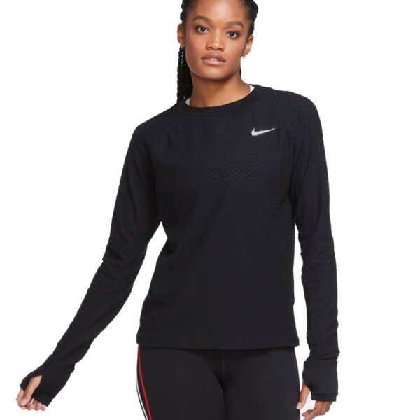 Nike Sphere Long Sleeve Women's Running Crew front