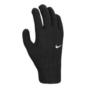 Nike Swoosh Knit Running Glove Front