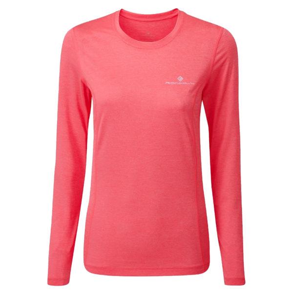 Ronhill Tech Long Sleeve Women's Running Tee Front