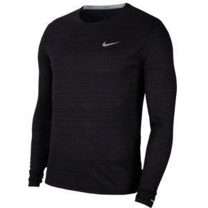 Nike Miler Long Sleeve black front