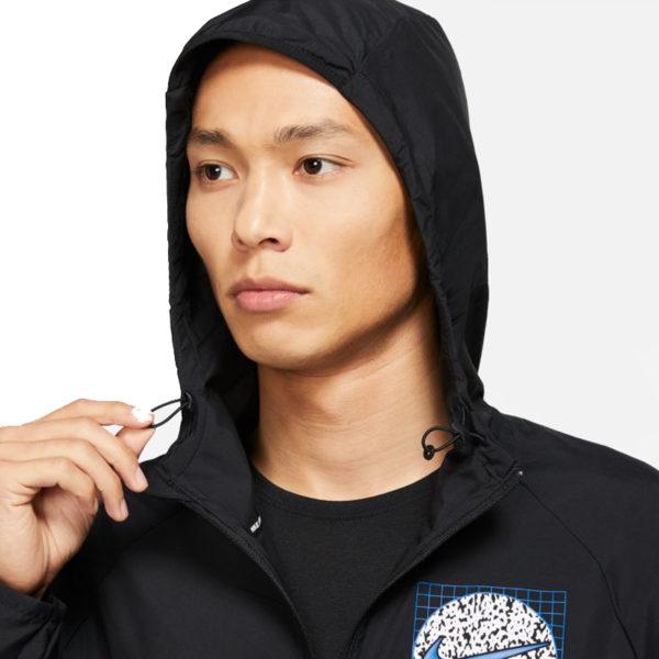 Nike Essential Wild RunMen's Running Jacket hood