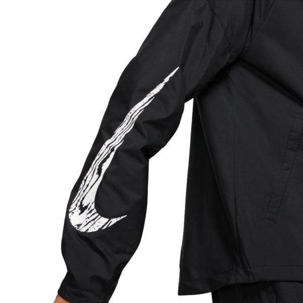 Nike Essential Wild RunMen's Running Jacket sleeve