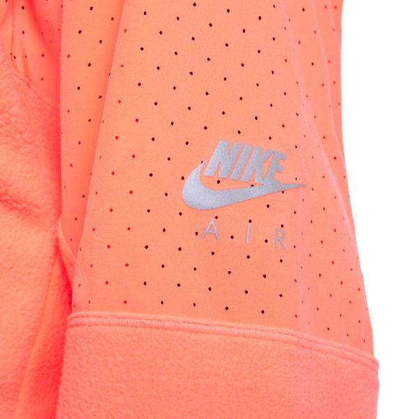 Nike Air Midlayer Women's Running Top bright mango sleeve
