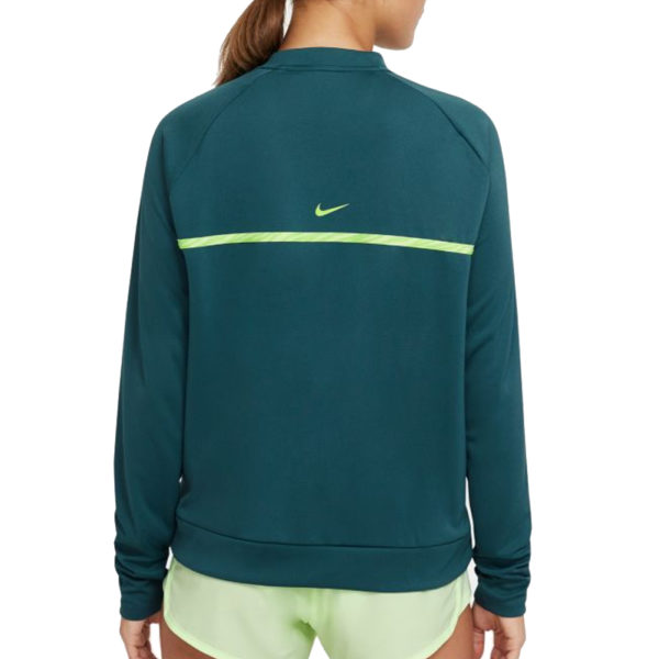 Nike Icon Clash Long Sleeve Women's Running Top Back