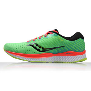 Saucony Guide 13 Men's Running Shoe green mutant side