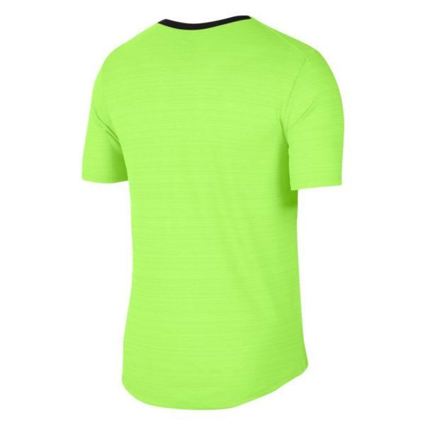 Nike Men's DF Miler Short Sleeve Running Tee Back