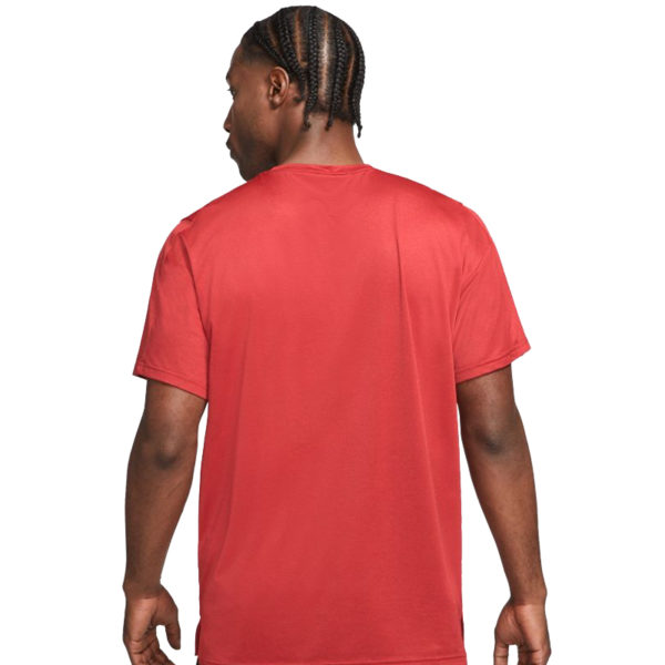Nike Men's Pro Dry-Fit Short Sleeve Running Tee Back