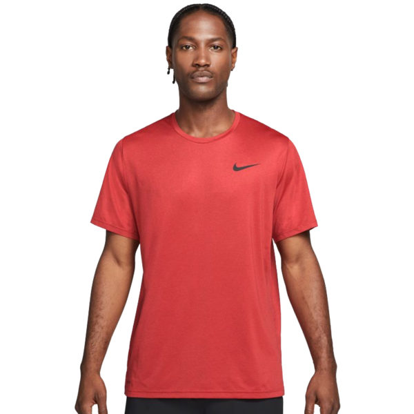 Nike Men's Pro Dry-Fit Short Sleeve Running Tee Front