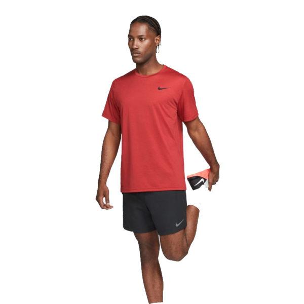 Nike Men's Pro Dry-Fit Short Sleeve Running Tee Model