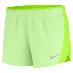 Nike 10k Women's Running Short Volt Barley Front