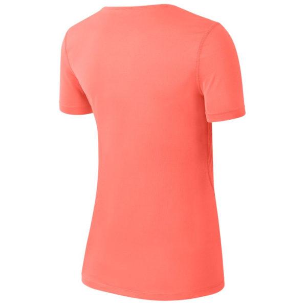 Nike Pro Short Sleeve Women's Running Tee Back