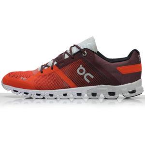 On Cloudflow Men's Running Shoe flare side