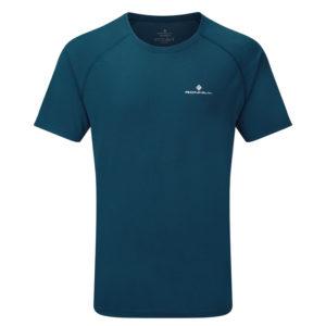Ronhill Core Short Sleeve Men's Running Tee peacoat front