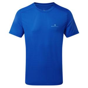 Ronhill Tech Short Sleeve Men's Running Tee azurite front