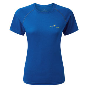 Ronhill Core Short Sleeve Women's Running Tee azurite front