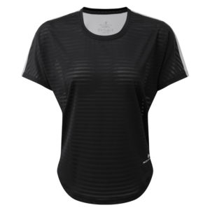 Ronhill Life Agile Short Sleeve Women's Running Tee black front