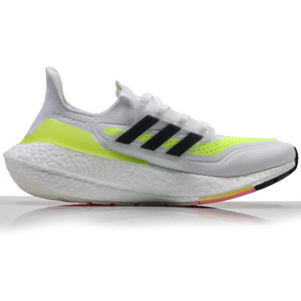 Adidas UltraBoost 21 Men's Running Shoe white back