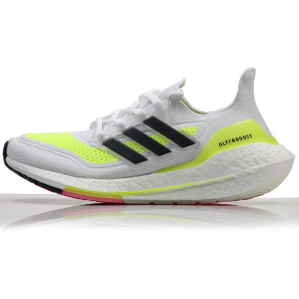 Adidas UltraBoost 21 Men's Running Shoe white side