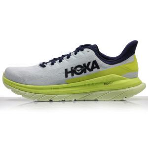 Hoka One One Mach 4 Men's Running Shoe blue flower front