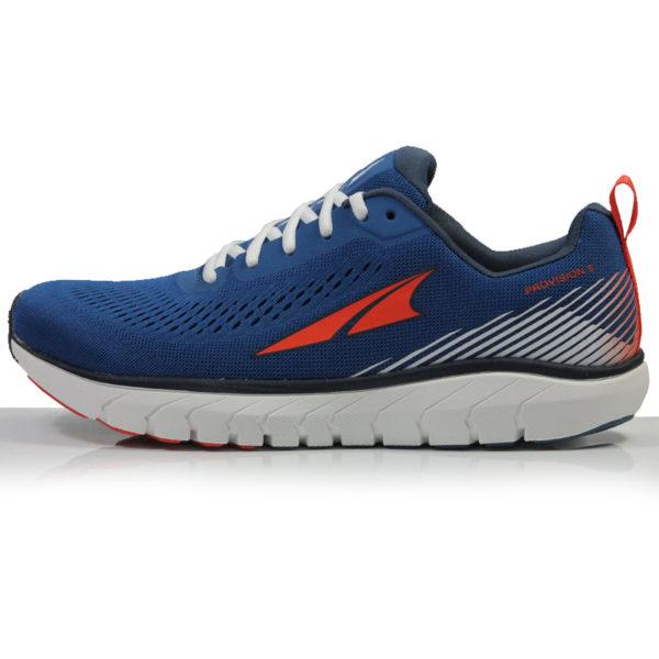 Altra Provision 5 Men's Trail Shoe blue side