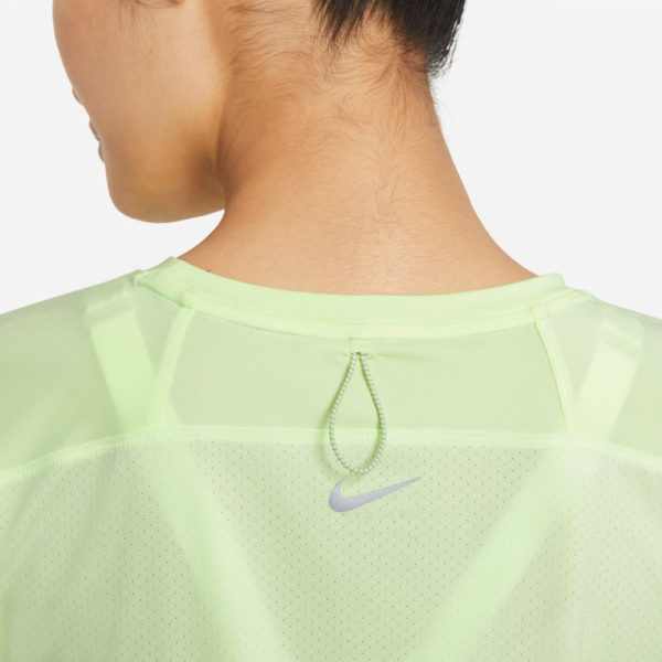 Nike Miler Run Division Short Sleeve Women's volt back
