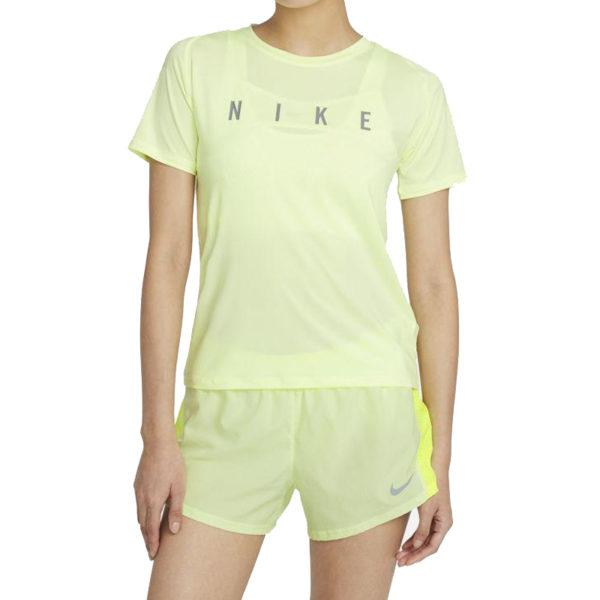 Nike Miler Run Division Short Sleeve Women's volt front