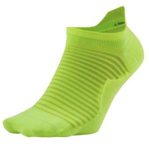 Nike Spark No-Show Unisex Running Sock volt