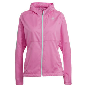 adidas Own The Run Women's Hooded Windbreaker pink front