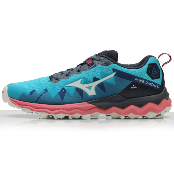 Mizuno Wave Daichi 6 Women's Trail scuba side