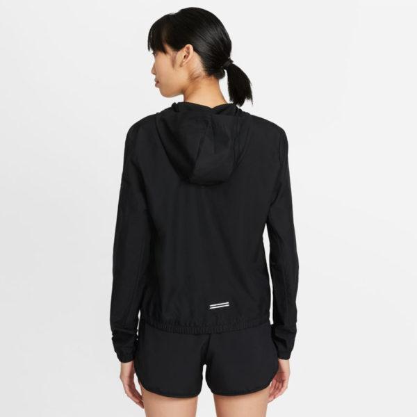 Nike Impossibly Light Women's Running Jacket black back