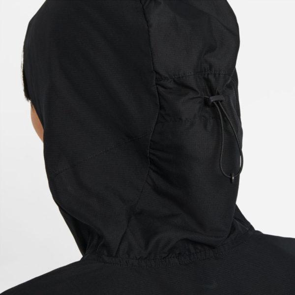 Nike Impossibly Light Women's Running Jacket black hood