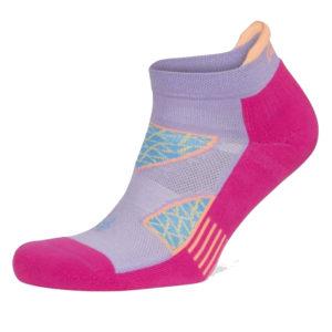 balega no show lavender electric pink