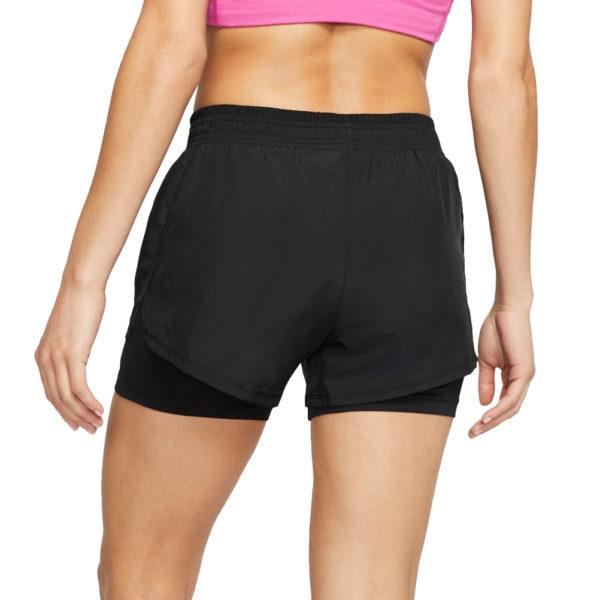 Nike 10k 2in1 Women's Running Short black model back