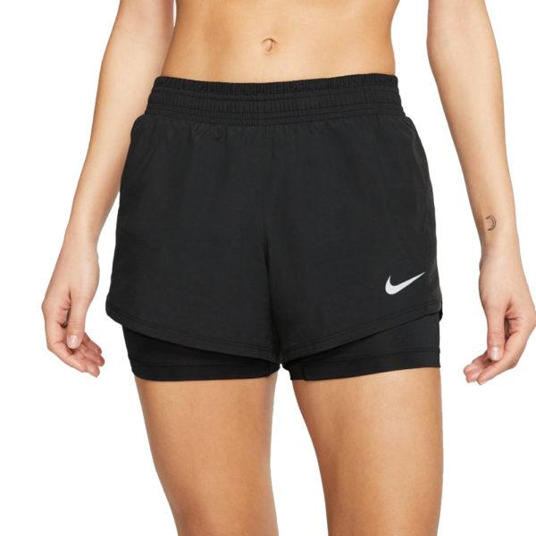 Nike 10k 2in1 Women's Running Short black model front