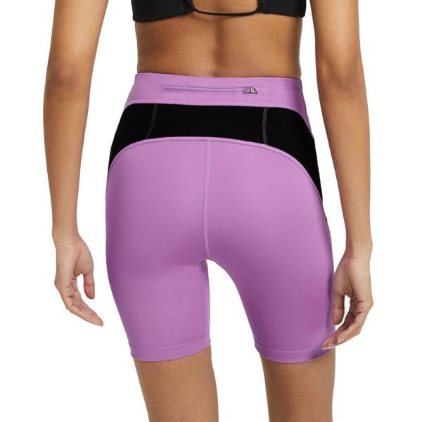 Nike Air Women's Running Short Tight violet back