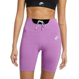 Nike Air Women's Running Short Tight violet front