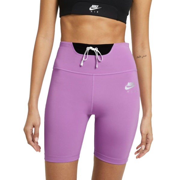 Nike Air Women's Running Short Tight violet front