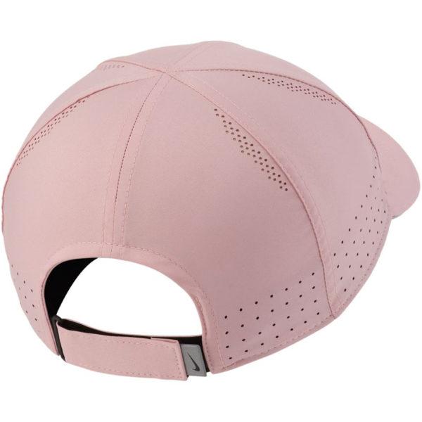 Nike Featherlight Women's Running Cap pink back