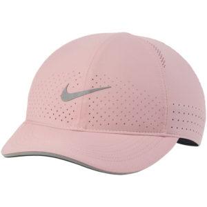 Nike Featherlight Women's Running Cap pink front