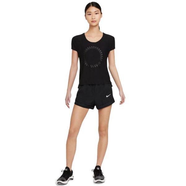 Nike Miler Icon Clash Short Sleeve Women's Running Tee model