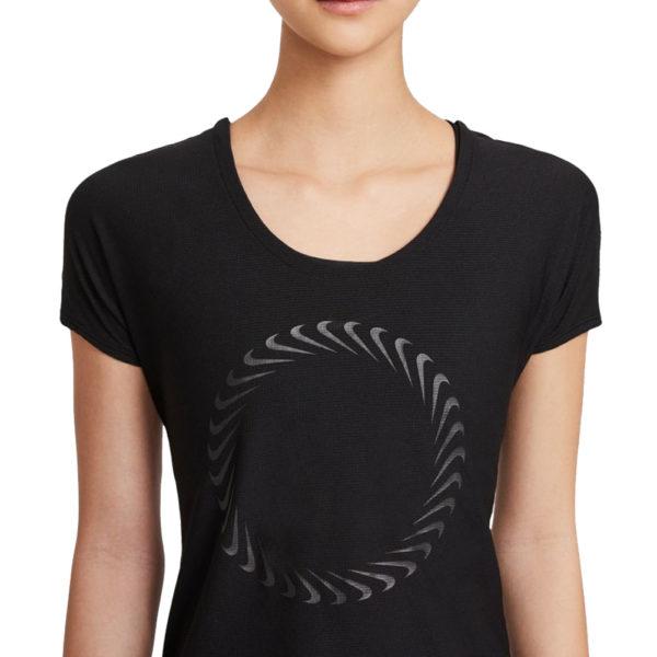 Nike Miler Icon Clash Short Sleeve Women's Running Tee front