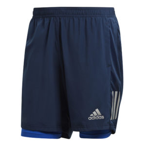 Adidas Own The Run 2in1 5inch Men's Running Short Navy