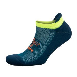 balega hidden no-show Run Sock Side