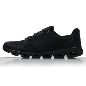 ON Cloudflyer Men's Running Shoe all black side