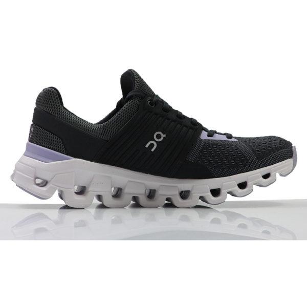 on cloudswift women's running shoe Back