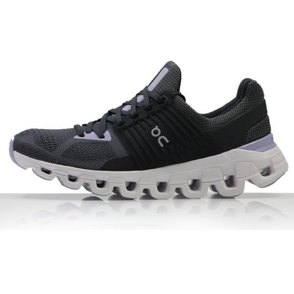 on cloudswift women's running shoe Side